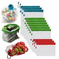 Reusable Grocery Shopping Bag Eco Friendly Fruit Vegetable M
