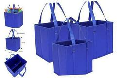 Reusable Grocery Shopping Bags, Storage Heavy Duty Reinforce
