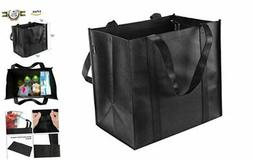 Reusable Grocery Tote Bags  - Hold 44+ lbs - Large & Durable
