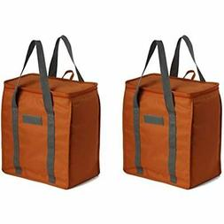 reusable insulated grocery bags heavy duty nylon