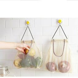 Reusable Mesh Produce Washable Fruit and Veg Bags Eco Grocer