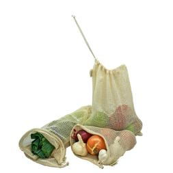 Simple Ecology Reusable Organic Cotton Mesh Grocery Shopping
