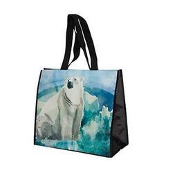 Wildlife Tree Reusable Polar Bear Animal Print Waterpaint Gr
