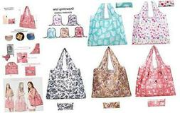 Reusable Shopping Bags Foldable Washable 50LB Extra Large Re
