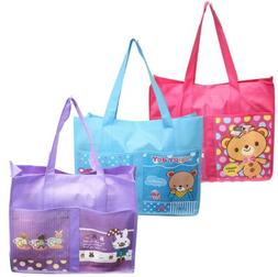 Reusable Tote Bag Shoulder Shopping Grocery Travel Picnic Be