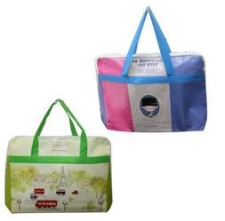 Reusable Tote Bag Shoulder Waterproof Shopping Grocery Trave