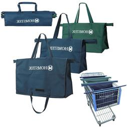 Reusable Trolley Shopping Cart Bags Grocery Organizer for Tr