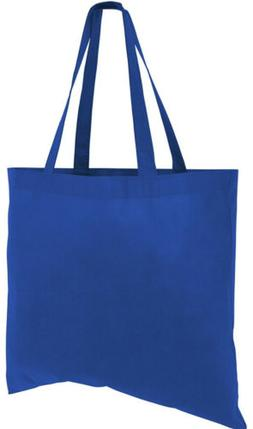"""Set Of 10 Large Tote Bags Reusable Grocery Bags 18"""" W X 15"""