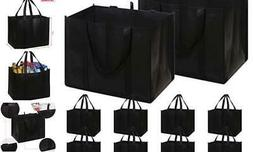 set of 10 reusable grocery bags extra