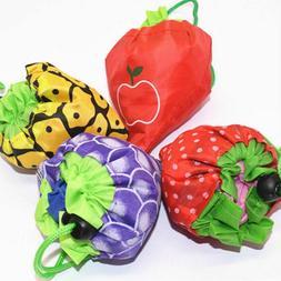 Shopping Bags Foldable Reusable Creative Fruit Shape Storage