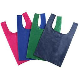 Meiyday Shopping Bags Pack of 4, Eco-Friendly, Folding Reusa