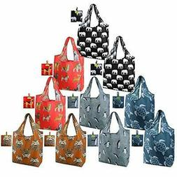 Shopping-Reusable-Bags-Groceries-Totes Bulk Large Capacity H