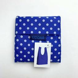 Baggu Standard Reusable Bag - Blue Dot - Rare Print - Nylon