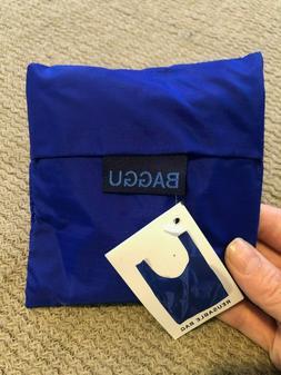 Baggu Standard Reusable Bag - Blue- Nylon Grocery Tote Bag N
