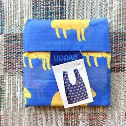 Baggu Standard Reusable Bag - Sheep - Blue Rare Print Small
