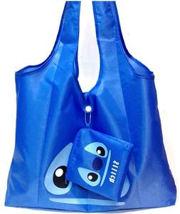 Disney Stitch Foldable Shoulder Bag Reusable Recycle ECO Tot