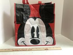 Disney Store Mickey Reusable Tote Bag Shopping Grocery Gift