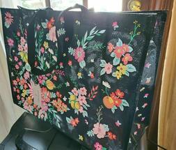 Vera Bradley TANGERINE TWIST MARKET TOTE Eco Shopping Bag Re