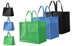 Tosnail 12 Pack Large Foldable Reusable Grocery Tote Bags Sh