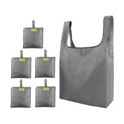 Tote Bags-Reusable-Shopping-Bags Gift Bags with Folded Groce