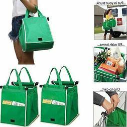 Trolley Reusable Shopping Cart Bag Grocery Supermarket Folda
