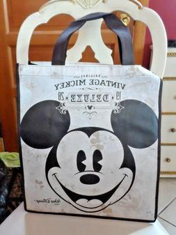 Vintage Mickey DISNEY REUSABLE TOTE GROCERY SHOPPING GIFT PA